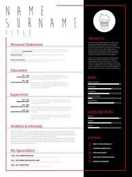 Resume Minimalist Cv Resume Template With Simple Design Company