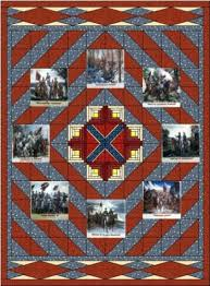 Confederate Flag Quilt Pattern very few civil war quilts survived ... & Confederate Flag Quilt Pattern very few civil war quilts survived the war Adamdwight.com