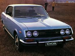 Well, my dad had this one after the Citroën DS Pallas died. Toyota ...