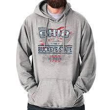 Ohio The Buckeye State America Usa Oh Gift Hoodie