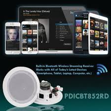 8 bluetooth ceiling wall speakers