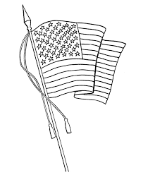 Small Picture American Flag Coloring Printable Waving American Flag Coloring