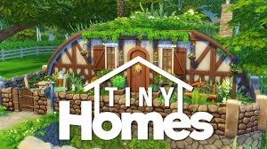 Building Underground Homes The Sims 4 Building Tiny Homes Underground Hobbit House Youtube