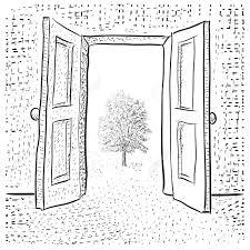 open door clipart black and white. Open Door Clipart Black And White Policy T