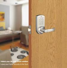 digital office door handle locks. Digital Lever Set Lock ` Stainless Keypad \u0026 Mechanical Key 60/70mm Adjustable Backset Tubular Latch Colors: Silver Office Door Handle Locks I