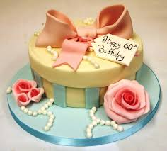 Birthday Cake Ideas For Women 60th Birthday Cakes As Decorations For