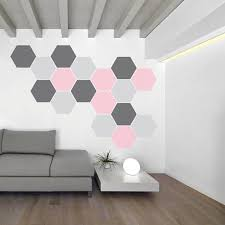 honeycomb pattern honeycomb wall decal urban walls