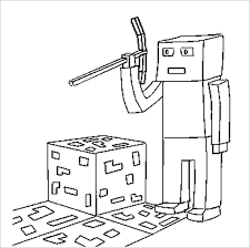 16 Minecraft Coloring Pages Pdf Psd Png Free Premium Templates