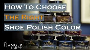 How To Choose The Right Color Shoe Polish Kirby Allison