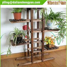 garden rack. Outdoor Garden Wood Flower Rack , Plant Stand R