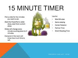 Start 15 Minute Timer Ppt 15 Minute Timer Powerpoint Presentation Id 2490987