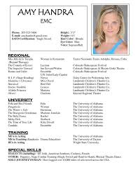 Acting Resume Templates New Child Actor Resume 48 Acting Resume Template Free Template Download