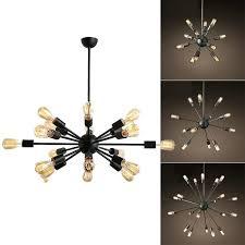 mid century chandelier starburst polished nickel large sputnik chandeliers gem gilded west elm arc