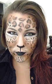 leopard cheetah makeup