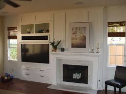 In Wall Entertainment Cabinet Built In White Entertainment Center Next To Fireplace Barwon