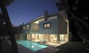 view modern house lights.  Lights House In Ekali  Modern House With Great Views 8 On View Modern Lights