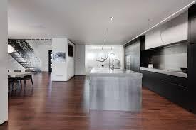 Black Kitchen Laminate Flooring Home Iron Lace Designed By Gestion Renac Desjardins Keribrownhomes