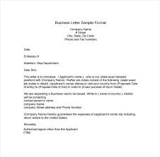 How To Write A Business Correspondence Letter Letters Free With