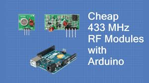 Using Inexpensive <b>433 MHz RF</b> Modules with Arduino - YouTube