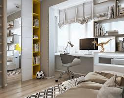 Minimalistic Kids Bedroom Design