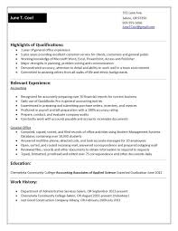Sample Resume College Graduate No Work Experience Valid Frightening