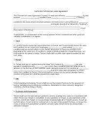 General Tenancy Agreement Form Tenancy Template Template