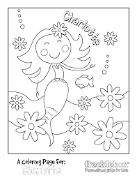 Frecklebox Free Personalized Coloring Pages Colouring Pages Free