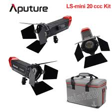 Aputure Light Storm Ls Mini20c Bi Color Led Light Us 749 0 Aputure Ls Mini 20c 3 Light Kit Cob Light Color Temperature 3200k 6500k Led Fresnel Light Tlci Cri 96 40000lux 0 5m Case In Photographic