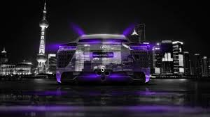 lexus lfa back crystal city car