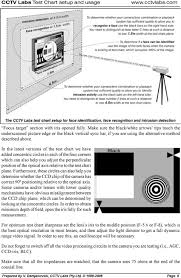 Video Camera Test Chart Cctv Labs Test Chart Pdf Free Download