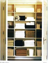 bathroom linen closet storage ideas keep your organized by neatly folding all linens and