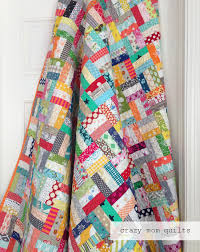 crazy mom quilts: crazy rails quilt-a tutorial & Today I will be sharing a tutorial on how to make a crazy rails quilt. (You  can see more photos of my crazy rails quilt here, if you'd like. Adamdwight.com