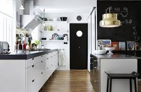 Kitchen Diner Lighting Decoration Contemporary Kitchen Diner With Awesome Monochrome