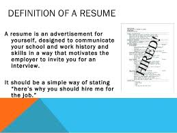 Curriculum Vitae Definition Awesome Definition Of Resumes Yelommyphonecompanyco