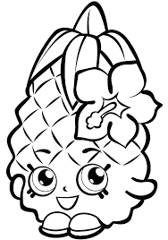 Shopkins Coloring Sheets Printable Best Images On Coloring Pages