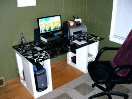 best desktop for home office. Coolest Computer Desks Full Image For Best Desktop Home Office Regarding Desk Dual Monitors Plans Monitor Multiple