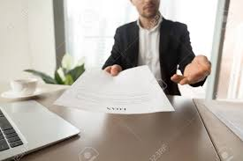 Company Loan To Employee Agreement Bank Employee Offers To Read And Check Loan Agreement Form Financial