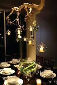 rustic chandeliers dining room rustic tree branch chandeliers 3 2