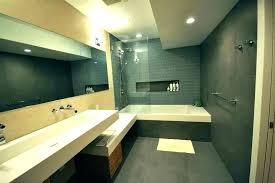 modern bathtub shower corner with combo from tub combination inch 54 bathroom vanity