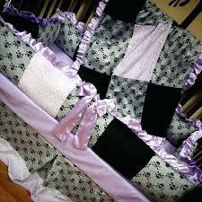 skull crib bedding skull crib set lavender grey pirate crib by skull and crossbones baby bedding