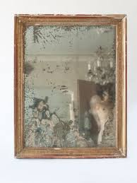 mercury glass mirror. Mercury Glass Mirror D