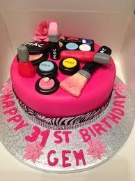 mac makeup birthday cakes wedding baby novelty christening childrens