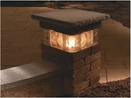 Pillar Solar Lights For Outdoors Outdoor Column Lights Kits All Home Decor Cool Outdoor
