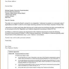 Sample Letters Of Retirement Sample Letters Retirement Resignation Save Letter Resignation