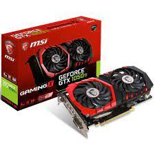 MSI GeForce GTX1050 Ti GAMING X 4GB OC GDDR5 128Bit NVidia DX12 Ekran Kartı  - Vatan Bilgisayar