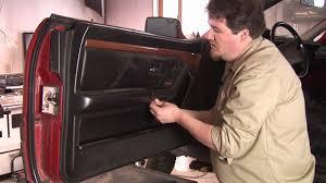 auto repair mechanics how to remove a car door panel