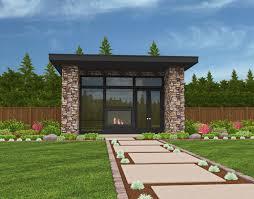 small house plans modern. Brilliant Plans Soma  MM640 1 Small Modern House Plans Front Elevation In O