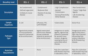 Biosafety Levels 1 2 3 4 Whats The Difference