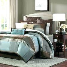 ideal brown and teal comforter set y1606161 interior chocolate brown and blue comforters teal bedding light
