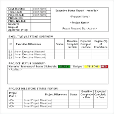 business quarterly report template template for business report sample service report template 6 free